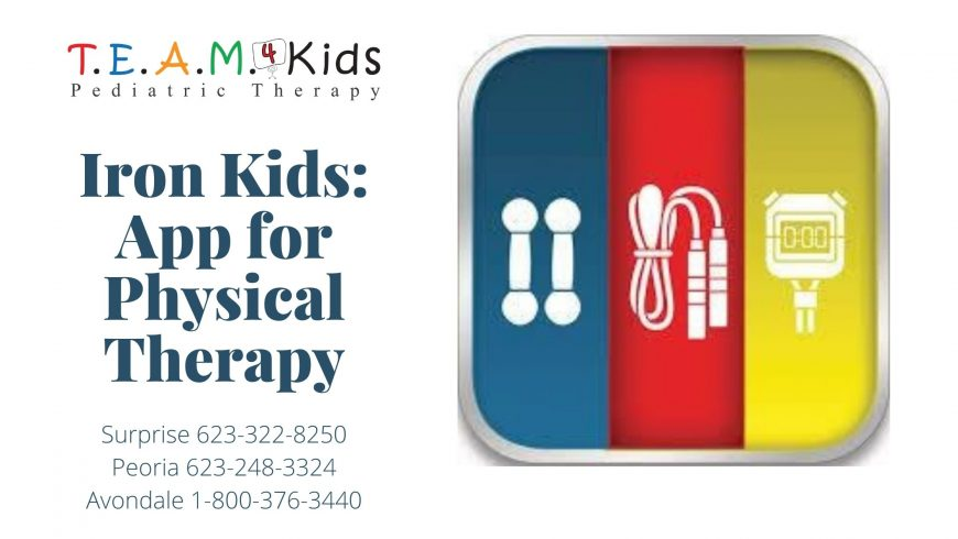 Physical Therapy App: Iron Kids