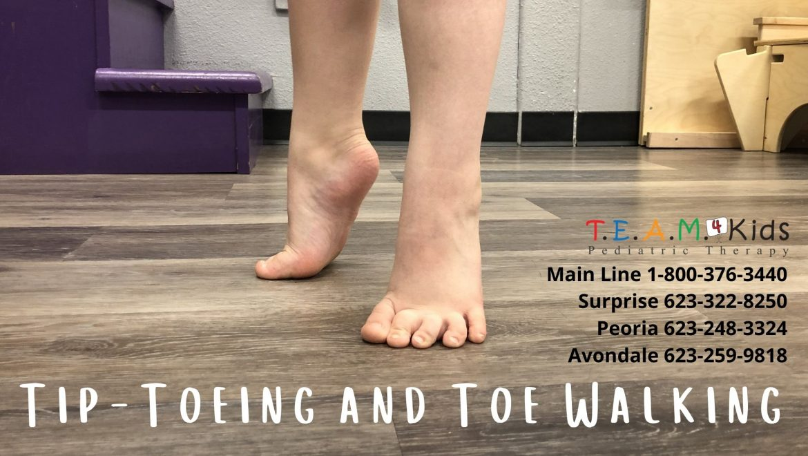 Why is it Important For My Child to Stop Tip-Toeing?