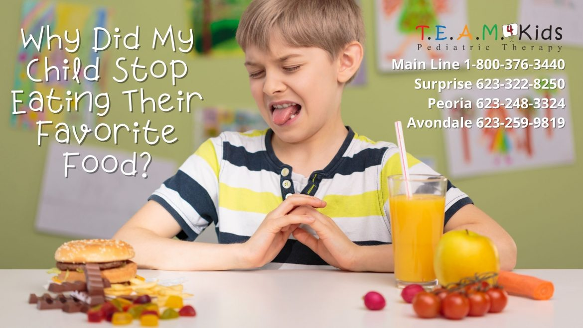 Why Did My Child Stop Eating Their Favorite Food?