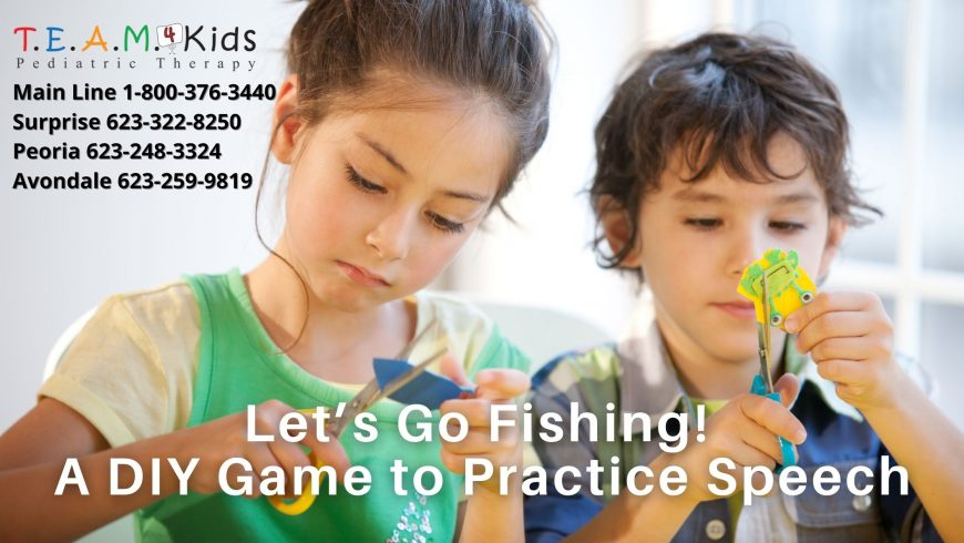 Let's Go Fishing! A Homemade Game to Practice Speech, Language, and Social Skills