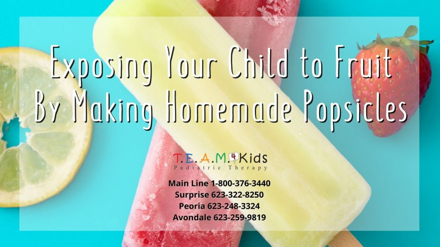 Exposing Your Child to Fruit With Homemade Popsicles