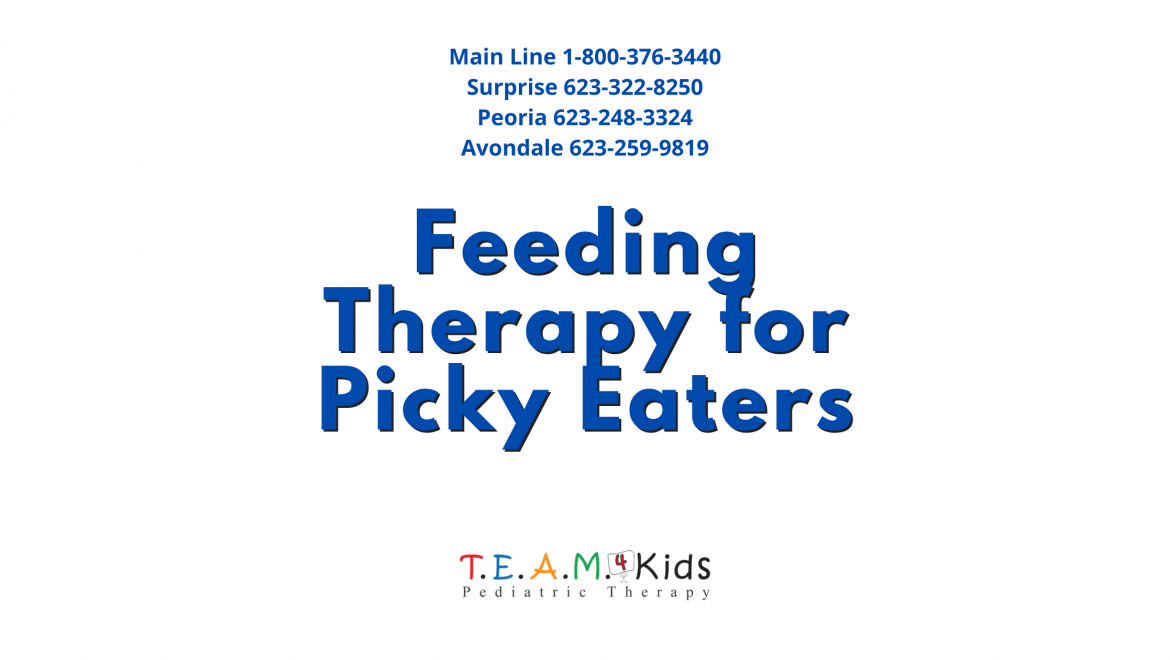 Can Feeding Therapy Help Children Who Are Very Picky Eaters?